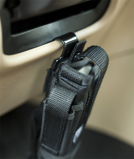 installation of steering wheel holster mount 6